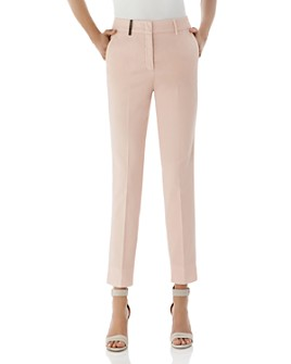 Peserico - Cropped Cotton Stretch Pants