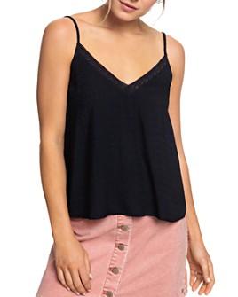 Roxy - Lace-Trim Camisole