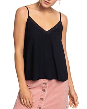 Roxy - Lace-Trim Camisole