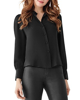 DL1961 - DL1961 x Marianna Hewitt Chambers St. Silk Button-Down Shirt