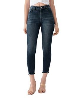 DL1961 - DL1961 x Marianna Hewitt Farrow Cropped High-Rise Jeans