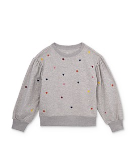 ag Adriano Goldschmied Kids - Girls' Leyla Embroidered Star Sweatshirt - Big Kid