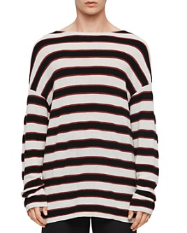 ALLSAINTS - Terren Striped Boatneck Sweater