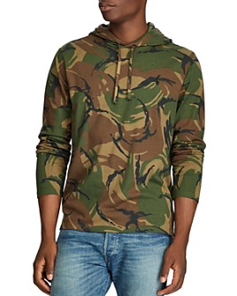 Polo Ralph Lauren - Camo Cotton Hooded Tee