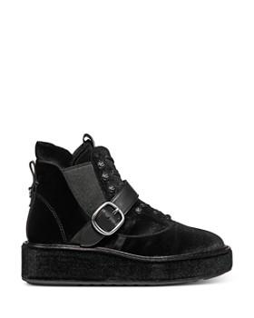COACH - x Tabitha Simmons Women's Chelsea Velvet Hiker Boots