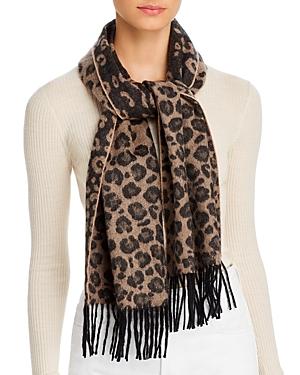 Leopard Cashmere Scarf