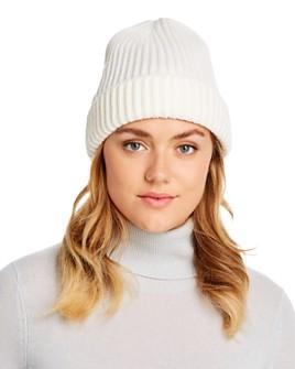 AQUA - Ribbed Cuff Hat - 100% Exclusive