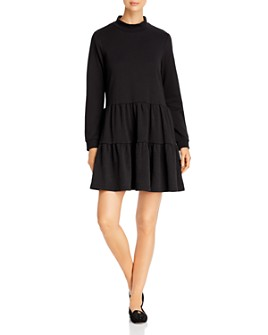 Vero Moda - Cardi Long Sleeve Tiered Dress