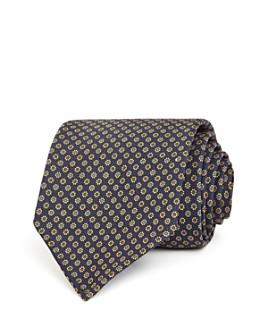 Drake's - Daisy Grid Neat Silk Classic Tie