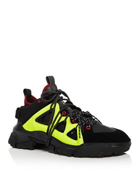 McQ Alexander McQueen - Men's Orbyt Mixed-Media Mid-Top Sneakers