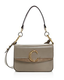 Chloé - C Medium Leather Satchel