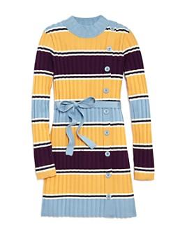 Habitual Kids - Girls' Maisie Ribbed Knit Dress - Little Kid