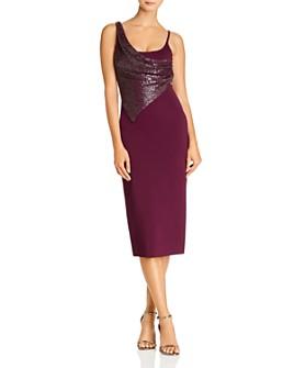 Cushnie - Embellished Sleeveless Midi Dress