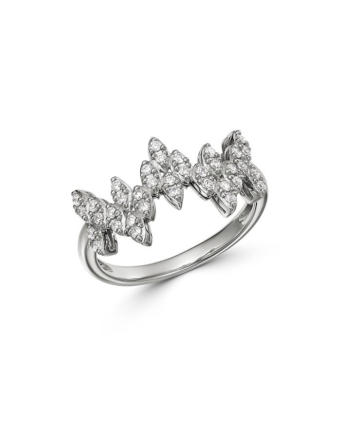 Bloomingdale's - Diamond Zigzag Band in 14K White Gold, 0.33 ct. t.w. - 100% Exclusive