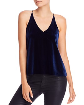 AQUA - Velvet Camisole Top - 100% Exclusive