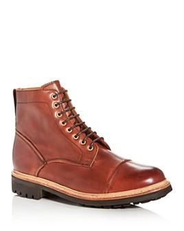 Grenson - Men's Joseph Leather Cap-Toe Boots