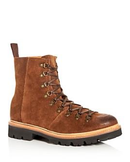 Grenson - Men's Brady Suede Hiker Boots