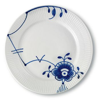 "Royal Copenhagen - ""Blue Fluted Mega"" Salad Plate #6"