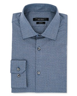 John Varvatos Star USA - Mélange Micro Check Slim Fit Dress Shirt