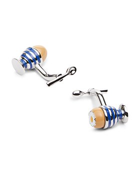 Babette Wasserman - Egg & Spoon Cufflinks