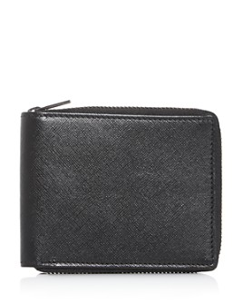 The Men's Store at Bloomingdale's - Saffiano Leather Zip Wallet - 100% Exclusive