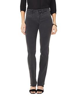 NYDJ - Marilyn Tailored Welt-Pocket Straight Jeans in Folsom