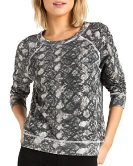 n:philanthropy - Montreal Snake Print Sweatshirt