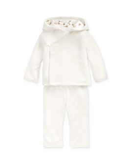 Ralph Lauren - Girls' Velour Hooded Jacket & Pants Set - Baby