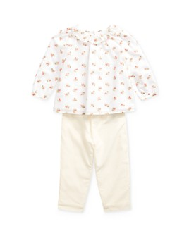 Ralph Lauren - Girls' Floral Print Top & Pants Set - Baby