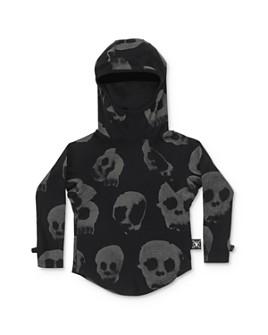 NUNUNU - Boys' Skull Hoodie - Little Kid