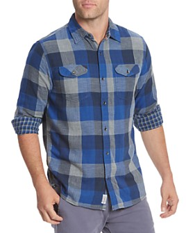 Flag & Anthem - Benton Plaid Flannel Regular Fit Button-Down Shirt