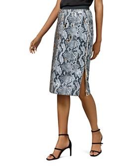 Ted Baker - Meeoh Snakeskin Sequin Midi Skirt