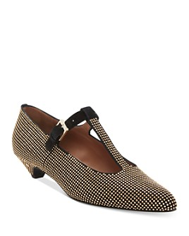 Laurence Dacade - Women's Studded Mary Jane Pumps