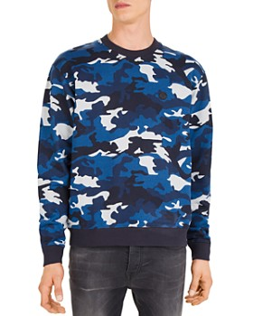 The Kooples - Camouflage Fleece Crewneck Sweatshirt