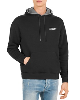 The Kooples - Logo Fleece Drawstring Hoodie