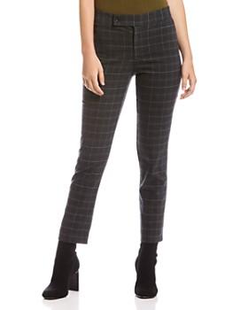 Bailey 44 - Winnie Plaid Straight-Leg Pants