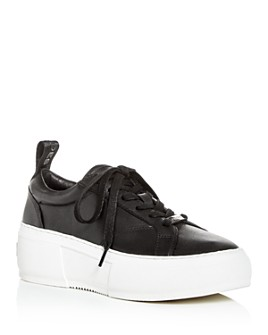 J/Slides - Women's Courto Low-Top Platform Sneakers