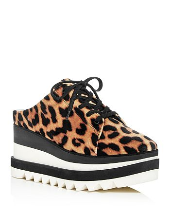 Stella McCartney - Women's Platform Wedge Sneaker Mules