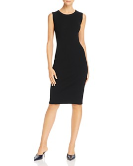 Helmut Lang - Ribbed Knit Bodycon Tank Dress