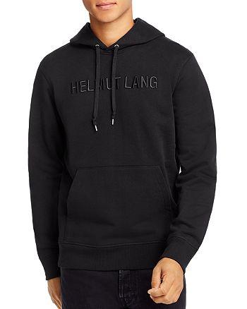 Helmut Lang - Standard Tonal Logo-Embroidered Hooded Sweatshirt