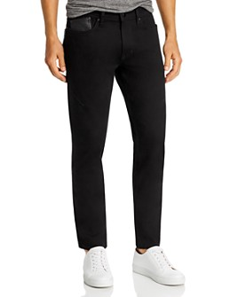 KARL LAGERFELD PARIS - Darted Slim Fit Jeans in Black