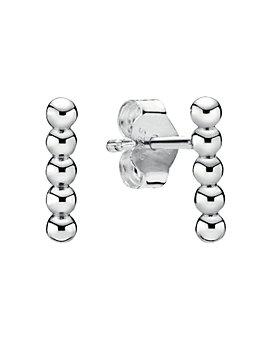 Pandora - Row of Beads Stud Earrings
