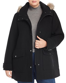 Marc New York Plus - Hooded Coat
