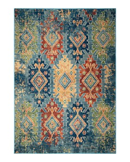 Palmetto Living - Alexandria Distressed Borego Medallion Area Rug Collection
