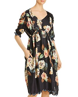 Johnny Was - Faelyn Floral Silk Dress