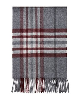 The Men's Store at Bloomingdale's - Cashmere Exploded Plaid Scarf - 100% Exclusive