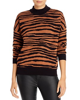 WAYF - Vincent Tiger Intarsia Sweater