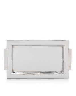 Mitchell Gold Bob Williams - Marble-Handle Serving Tray