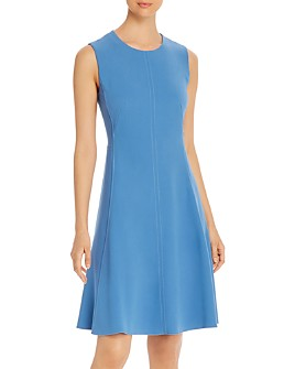 T Tahari - Sleeveless A-Line Dress