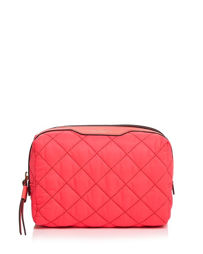 Tory Burch - Perry Quilted Nylon Cosmetics Case